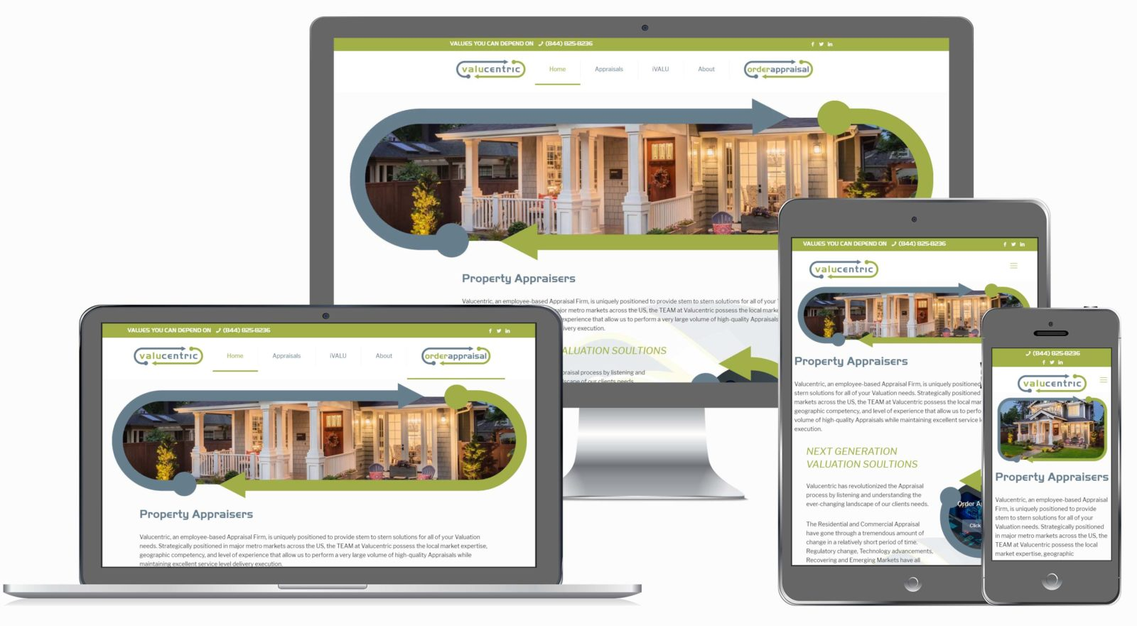 Property Appraiser Website by Known Digital Marketing
