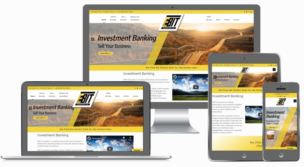 Business Broker Website