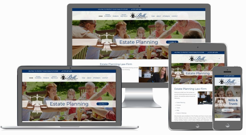 Estate Planning Attorney Website