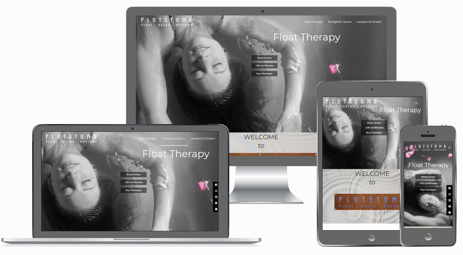 Float Therapy Company Website