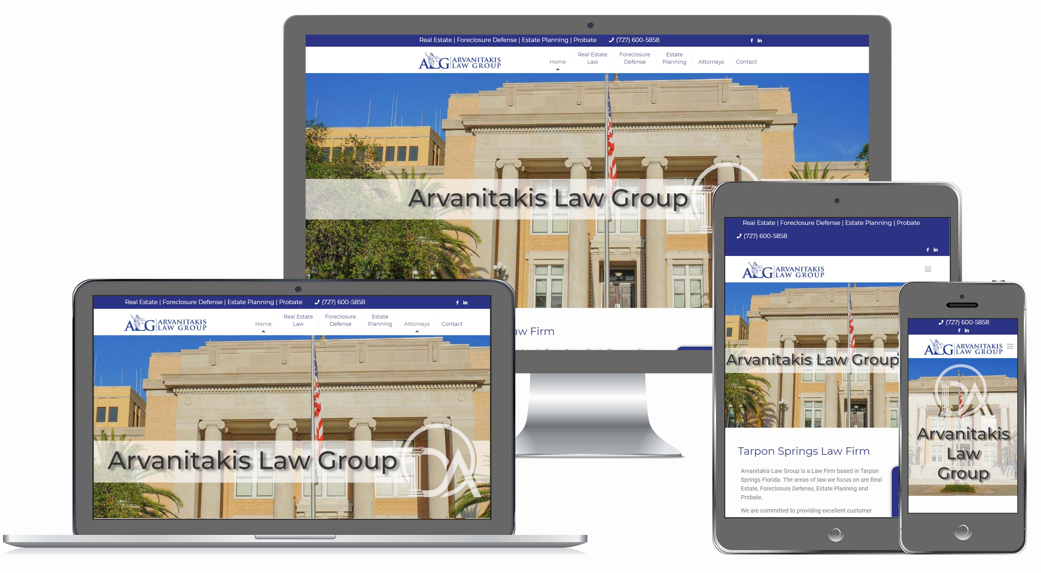 Real Estate Attorney Website